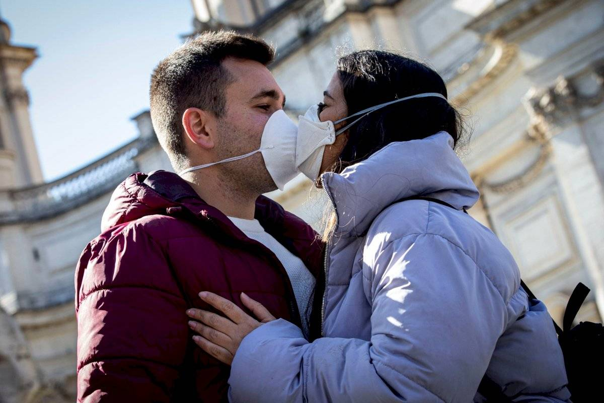 Prohibición de besos
