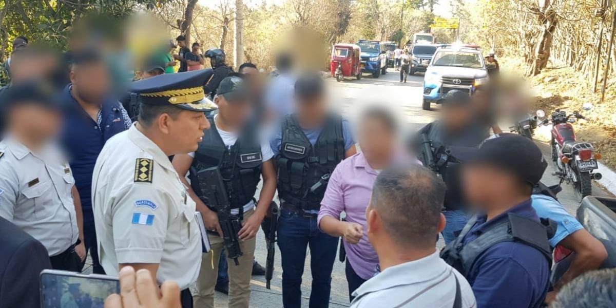 Agente PNC muere baleado en San Juan Sacatepéquez