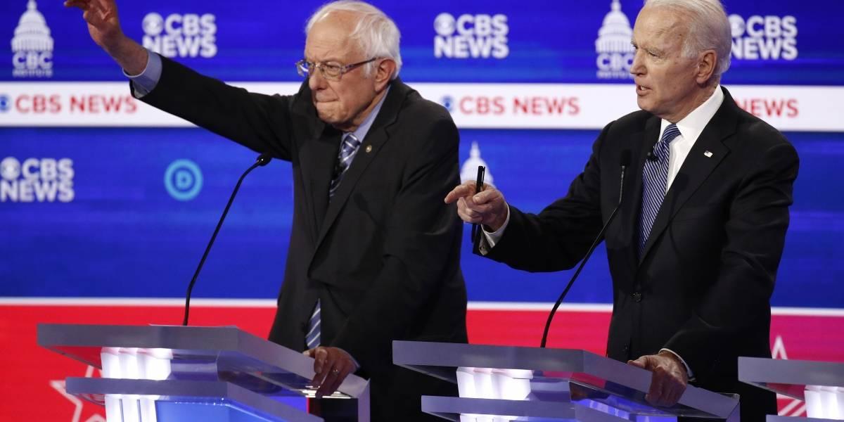 ¿Quién vota por Joe Biden y quién por Bernie Sanders?