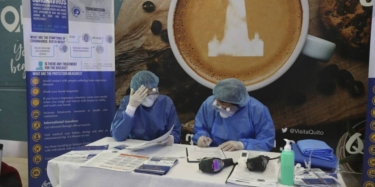 Confirman nuevos casos de coronavirus en Ecuador y Chile