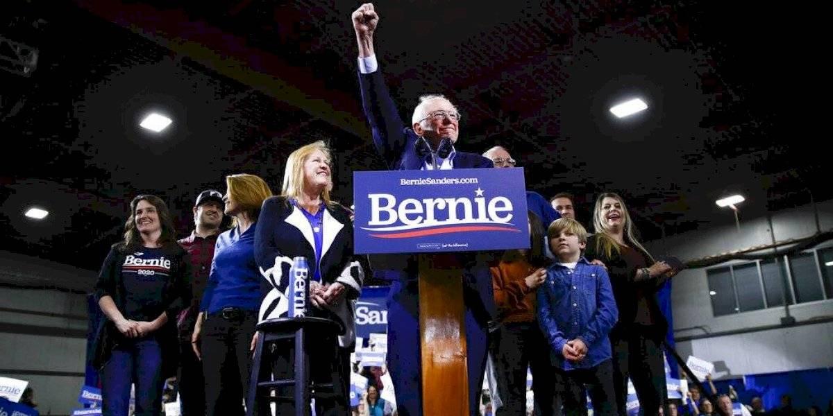 Supermartes reduce el campo virtualmente a Joe Biden y Bernie Sanders