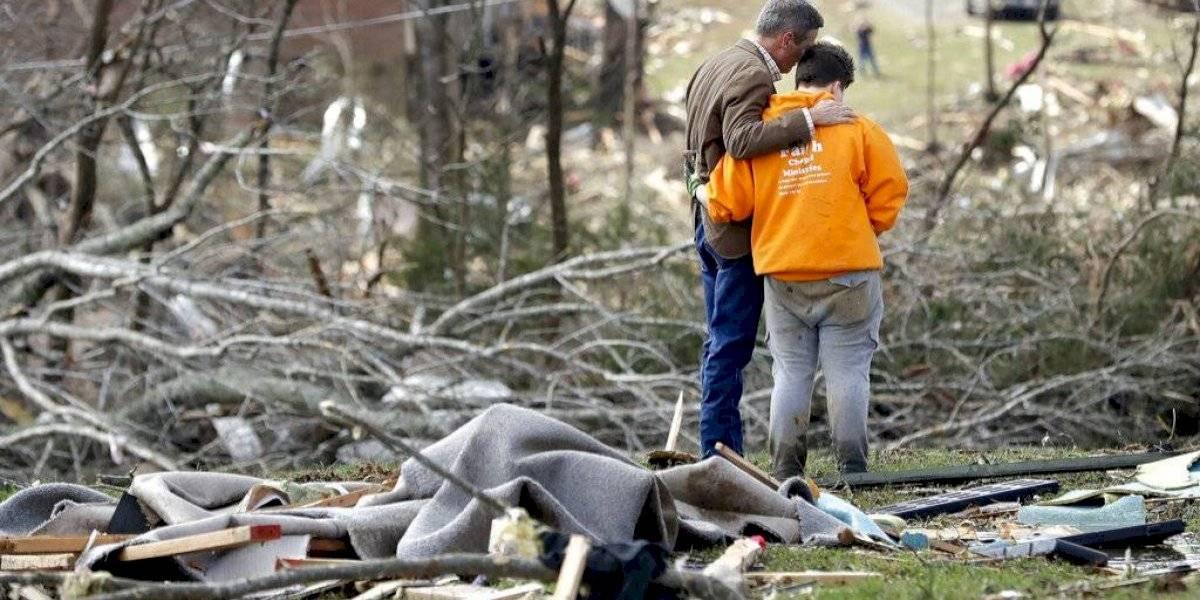 Tennessee en estado de emergencia tras paso de tornados