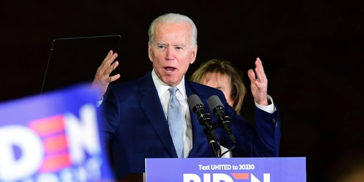 """Joe Biden avanza frente a Bernie Sanders en el """"supermartes"""""""