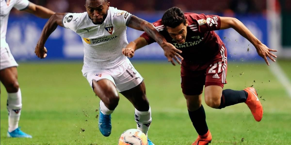 ¡LDU Quito goleó en casa! La B de River Plate no estuvo a la altura en la Copa Libertadores