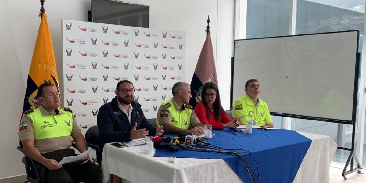 """Quito: 40 detenidos en operativo """"Destello Quiteño III"""" en el distrito La Delicia"""
