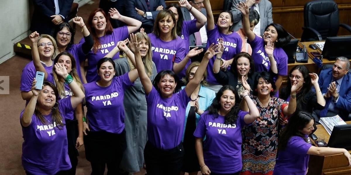 Histórico: Senado aprobó y despachó paridad de género en Proceso Constituyente