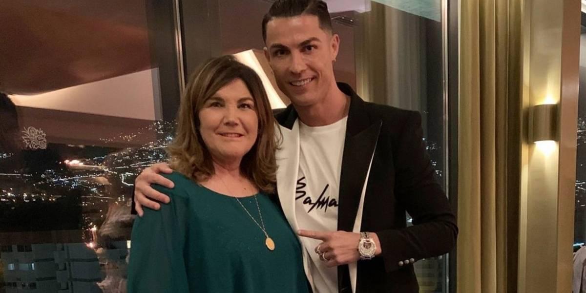 Cristiano reveló cuál es el actual estado de salud de su madre tras el accidente cerebrovascular