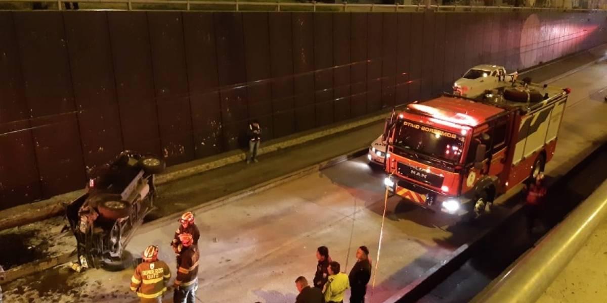 Quito: Dos accidentes en la últimas horas dejaron dos fallecidos y un herido