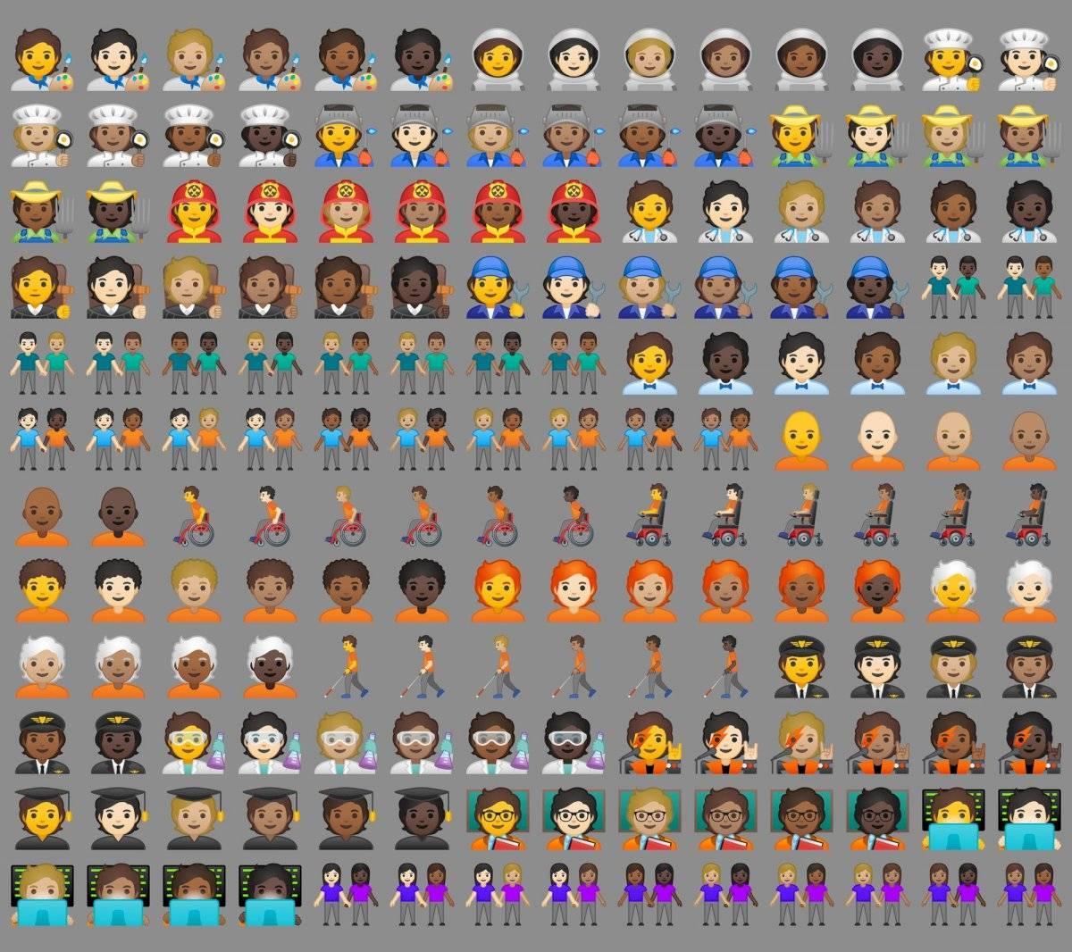 Google/Emojipedia composite