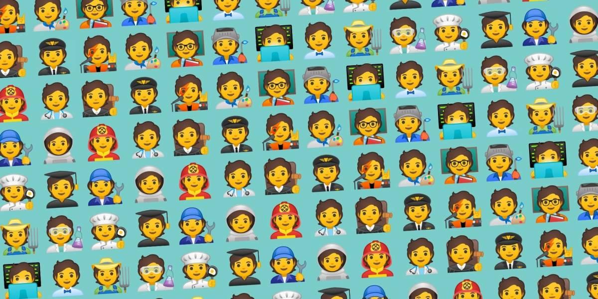 Atualização do Google libera 168 novos emojispara os usuários