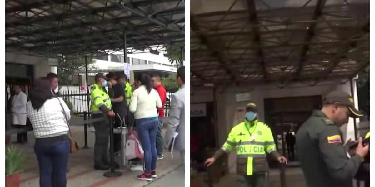 Alerta máxima por sospecha de coronavirus en hospital de la Policía en Bogotá