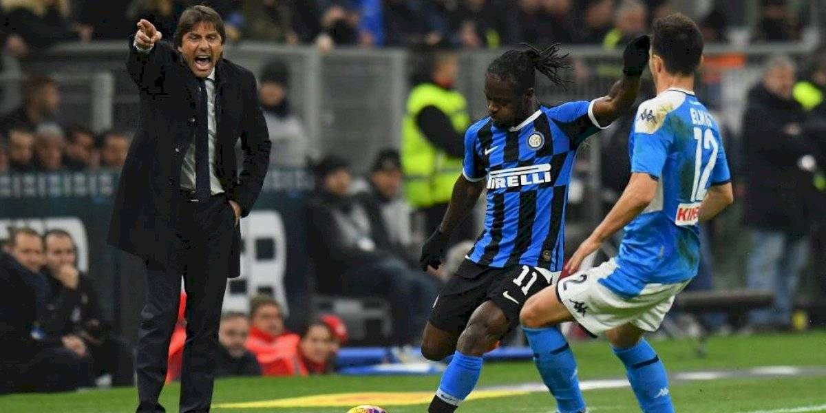 El Coronavirus no para y suspende el partido del Inter de Alexis ante el Napoli