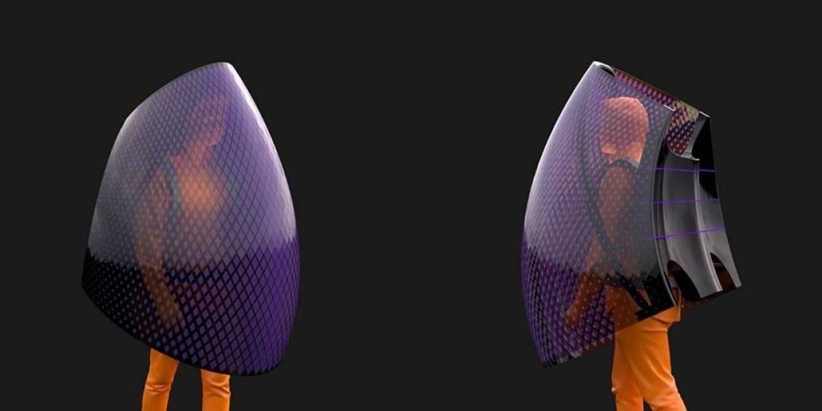 Traje especial tipo murciélago promete aislamiento total del coronavirus