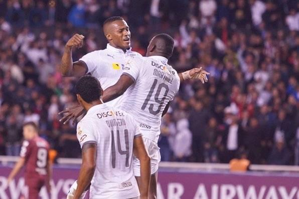 Liga de Quito goleó a River Plate API
