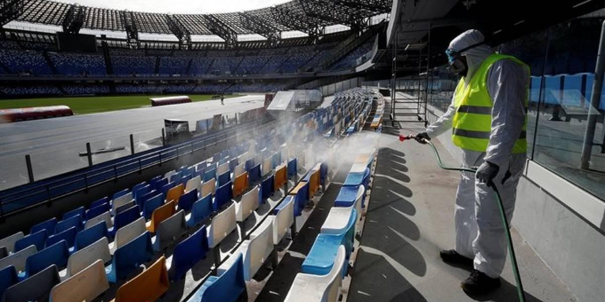 Los partidos de la Serie A se jugarán a puerta cerrada