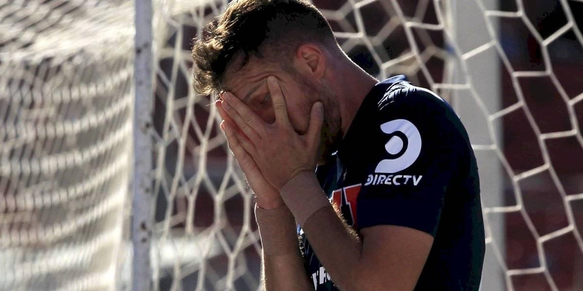 """Ángelo Henríquez sigue arrastrando su nube negra y ni el tenis lo hace ver la luz en la """"U"""""""