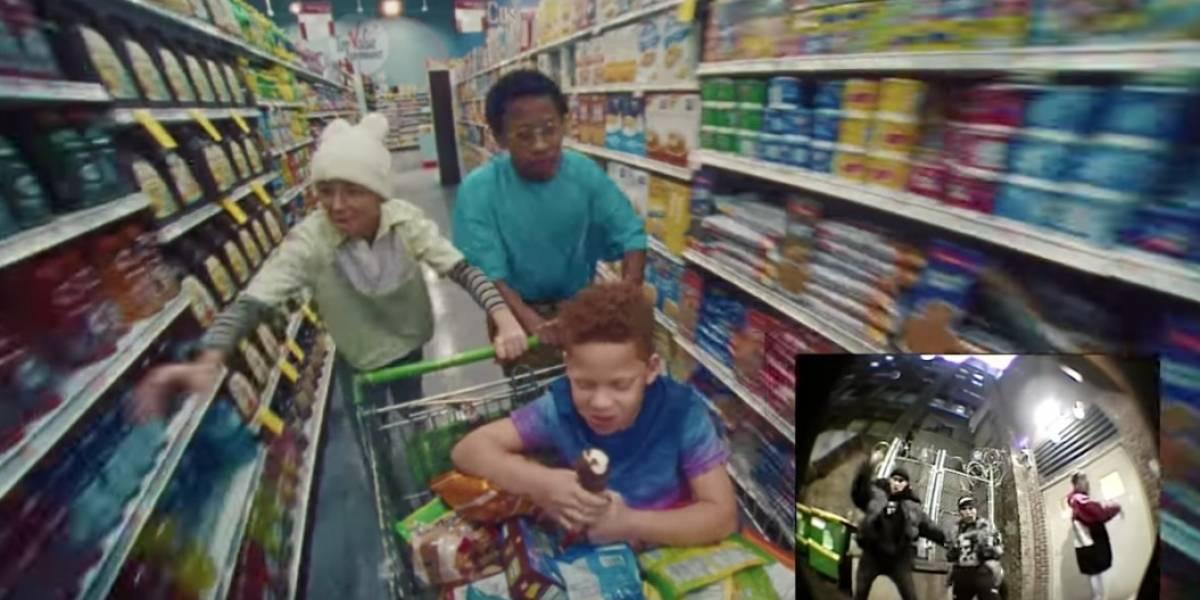 """Hijo de """"La Burbu"""" se roba el show en nuevo video de Bad Bunny"""