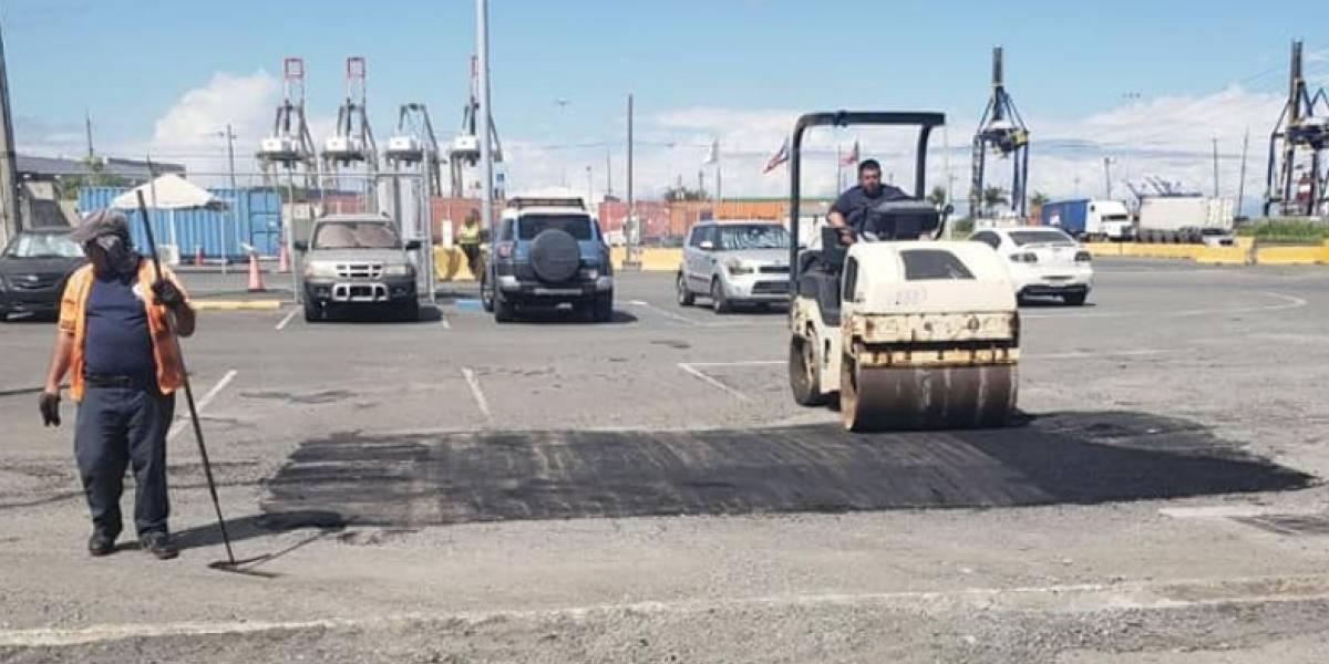 Puertos repavimentará zona portuaria de Puerto Nuevo