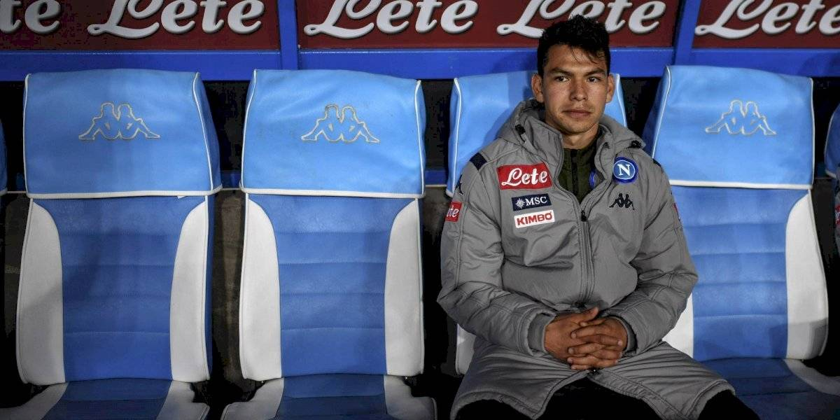 Napoli dejaría salir al Chucky Lozano a préstamo