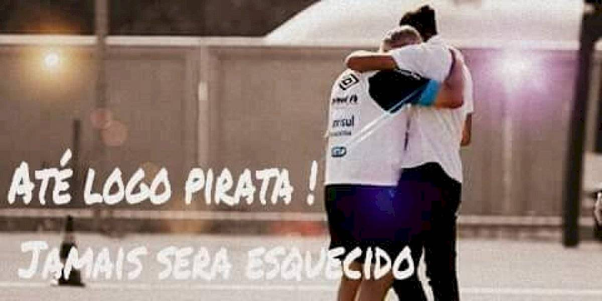 """Regalón """"Pirata"""" de Scolari lo llena de flores: """"No es solamente un entrenador, es un fenómeno, tiene un corazón enorme"""""""