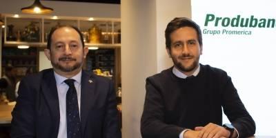 Fabián Garzón, vicepresidente de Planificación y Desarrollo y Sergio Dávalos, jefe de la agencia
