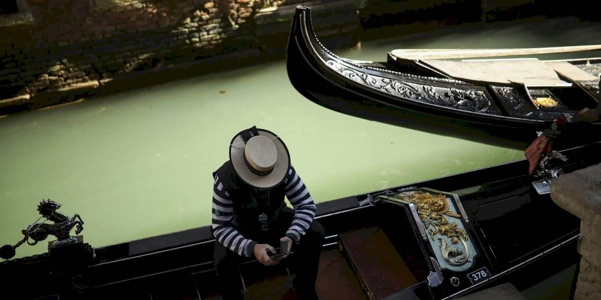 Desierta Venecia y sin turistas por coronavirus