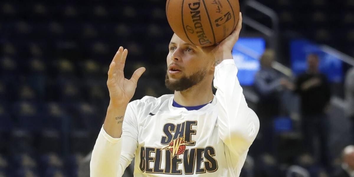 Curry confía en su preparación al regresar con los Warriors