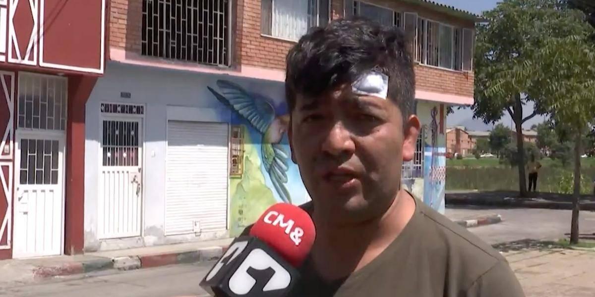 Delincuentes golpearon, amarraron y robaron a conductor de Beat en Bogotá