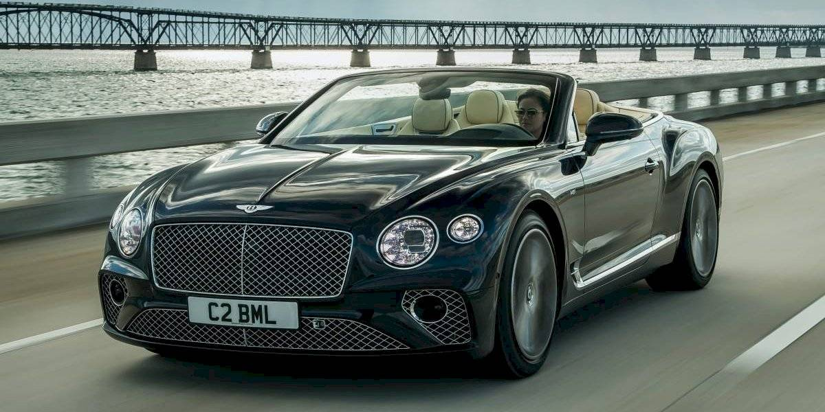 Bentley se pone más lujoso con el nuevo Continental GT Convertible V8