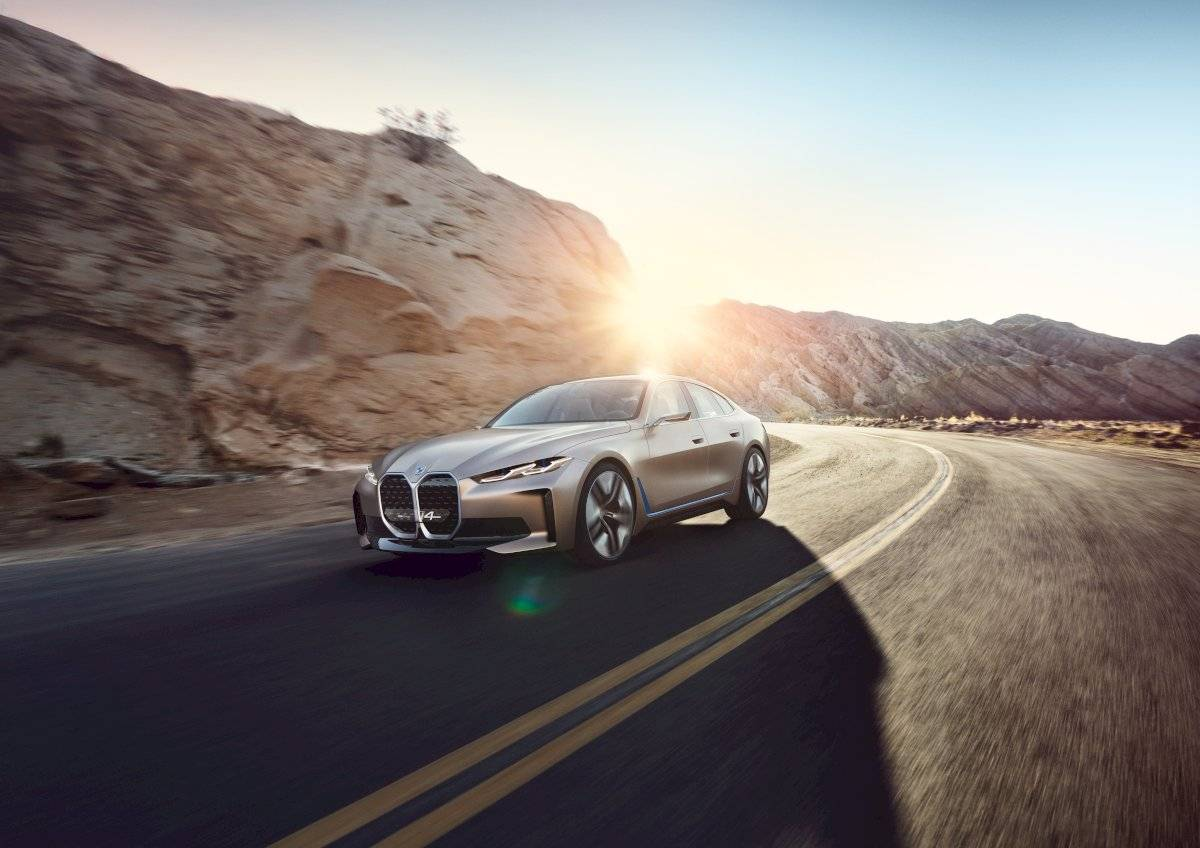 BMW Concept i4 sonido 2