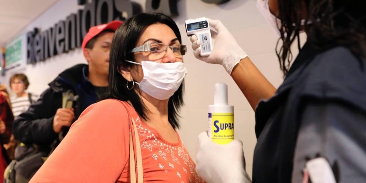 Revelan datos del vuelo en el que llegó de Milán la colombiana con coronavirus