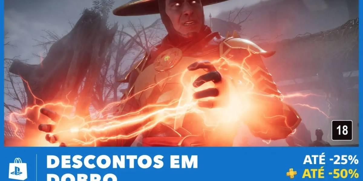 Promoção 'Descontos em Dobro' da PlayStation Store está de volta
