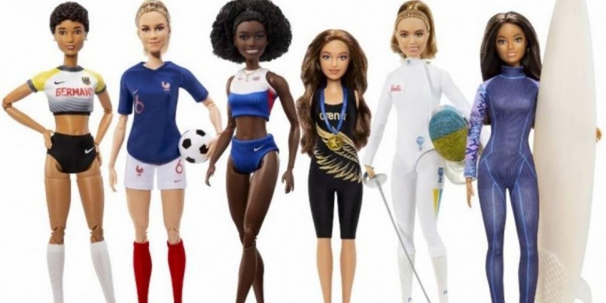 Barbie lanza muñecas inspiradas en estrellas del deporte