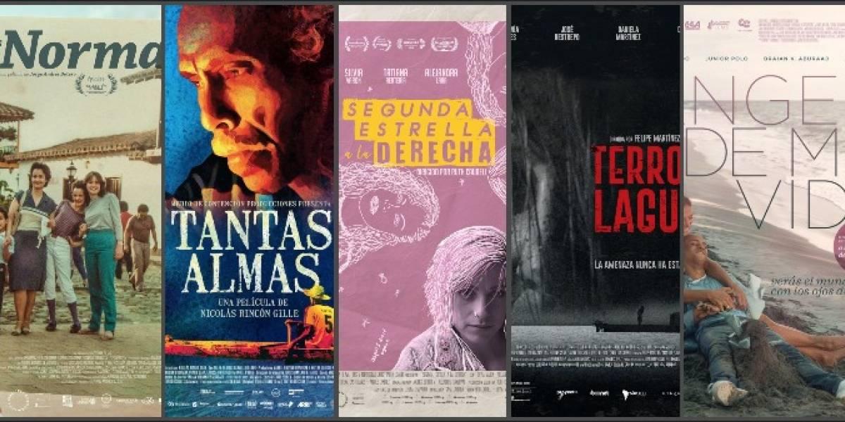 5 películas colombianas que llegan a la cartelera