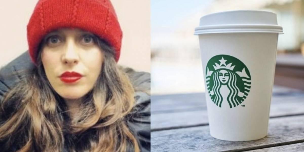 Twittera en Bogotá se queja por mensaje que empleado de Starbucks le escribió