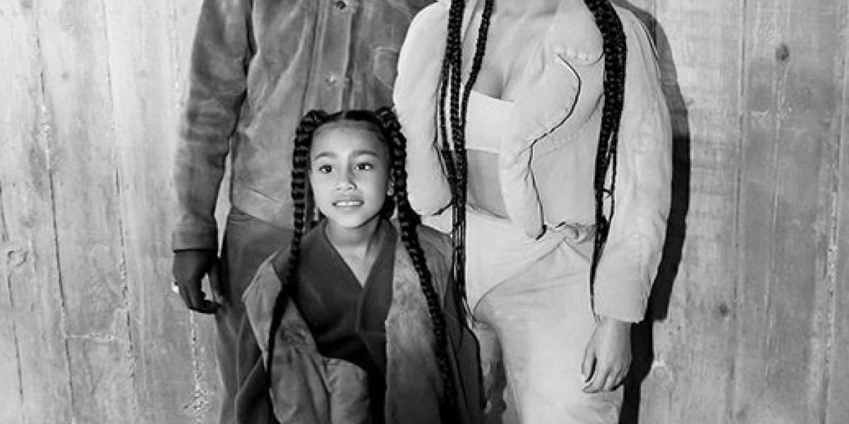 Con tan sólo seis años la hija de Kim Kardashian fue acusada de plagio