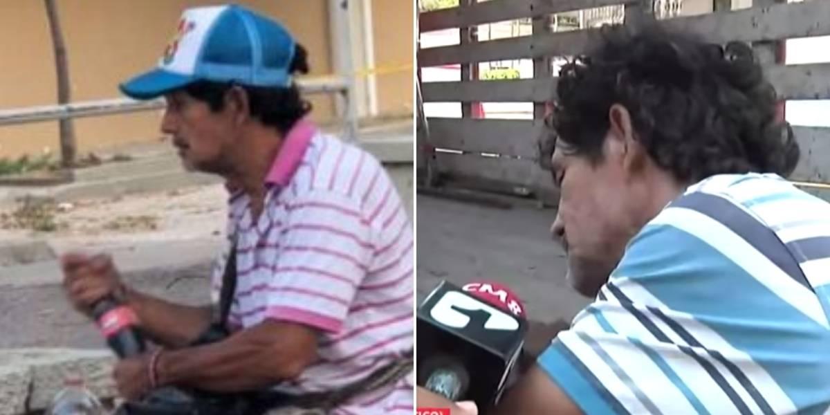 Habló vendedor ambulante que reenvasaba gaseosas y así justificó su antihigiénico acto