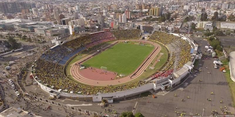 Estadio Olímpico Atahualpa en la actualidad