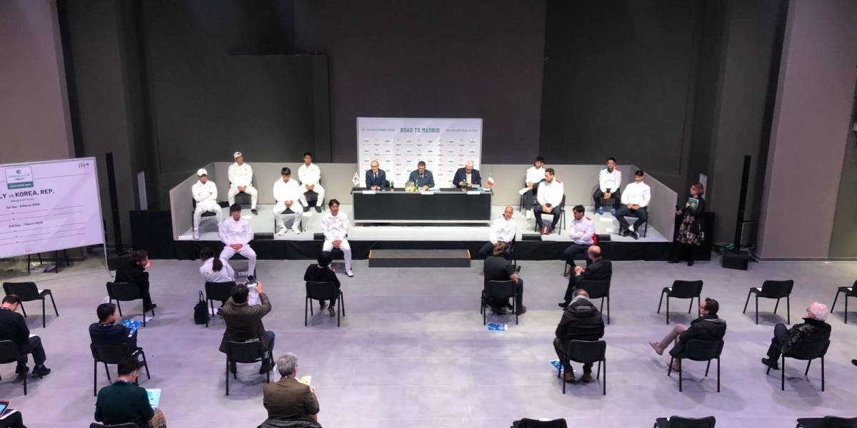 Metro y medio fuera: El curioso sorteo de la Copa Davis entre Italia y Corea del Sur por el coronavirus