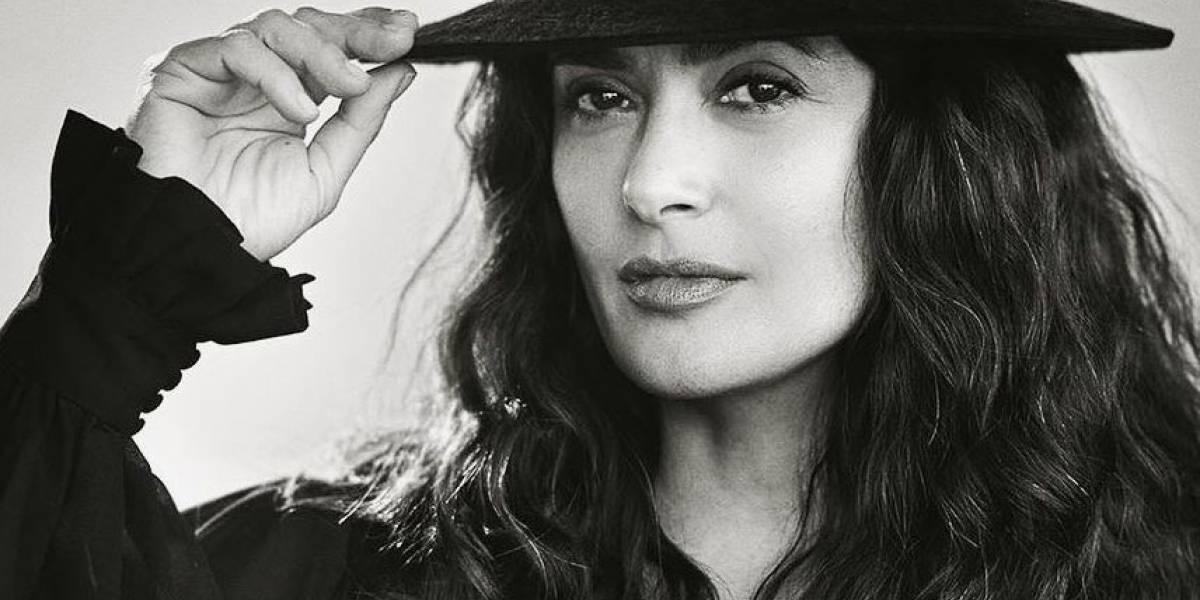 "Salma Hayek revela uno de sus looks para ""The Eternals"""