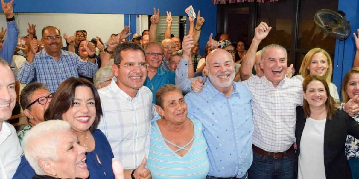 'Johnny' Méndez y Pedro Pierluisi hacen campaña en San Juan