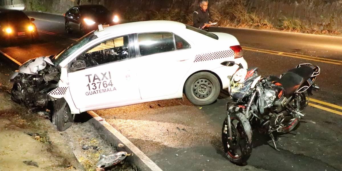 Bomberos reportan accidentes de tránsito en distintos lugares