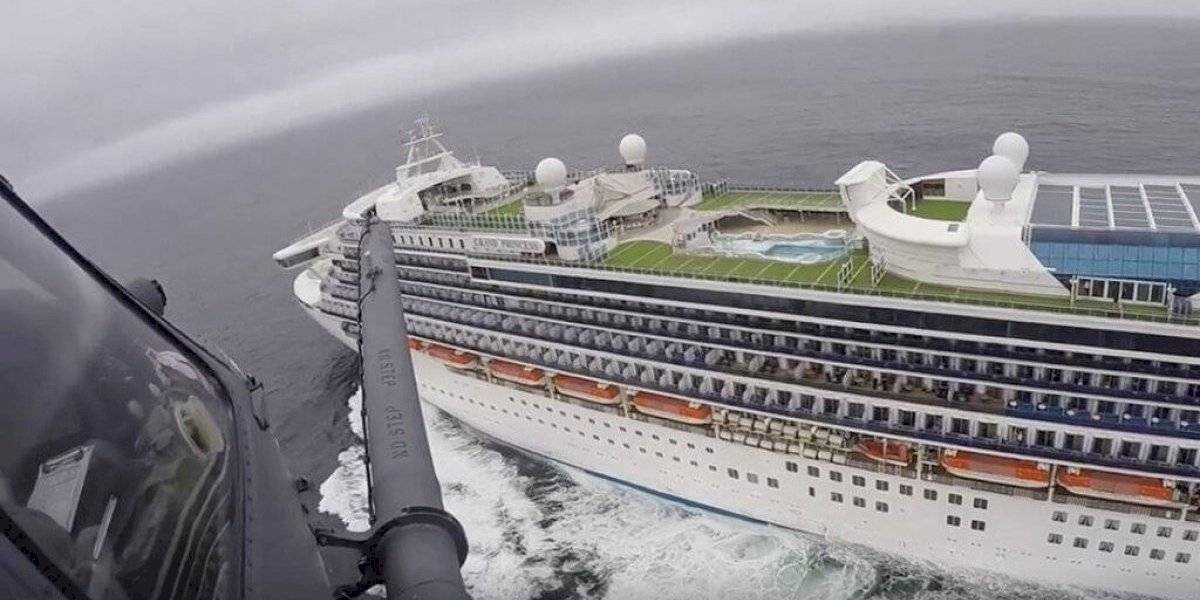 Pasajeros de crucero vinculado a coronavirus pasearon en México
