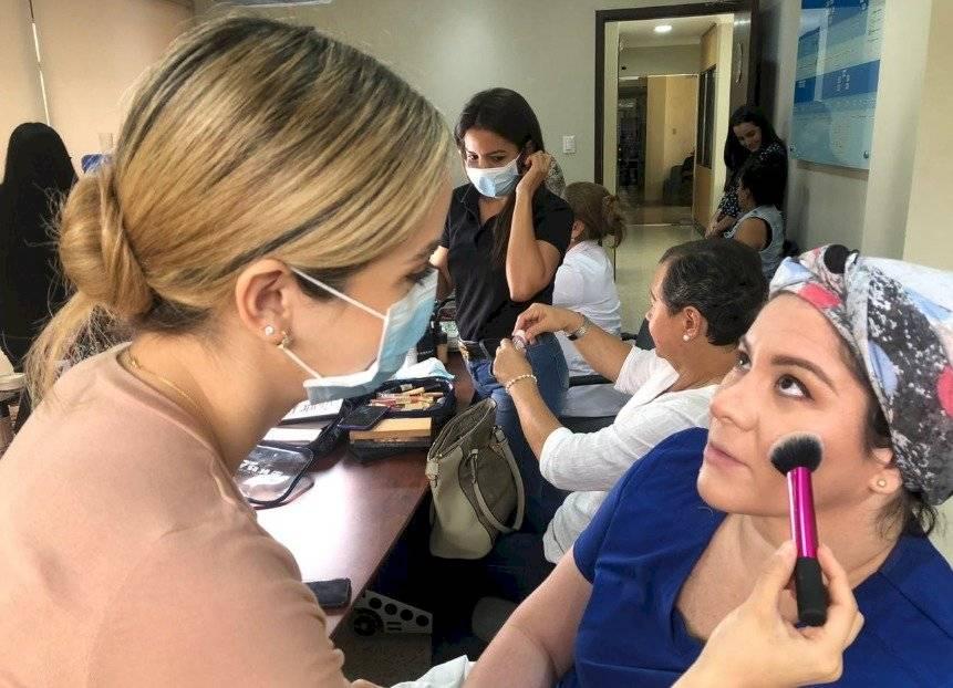 Maquillaron a pacientes en Solca Guayauil