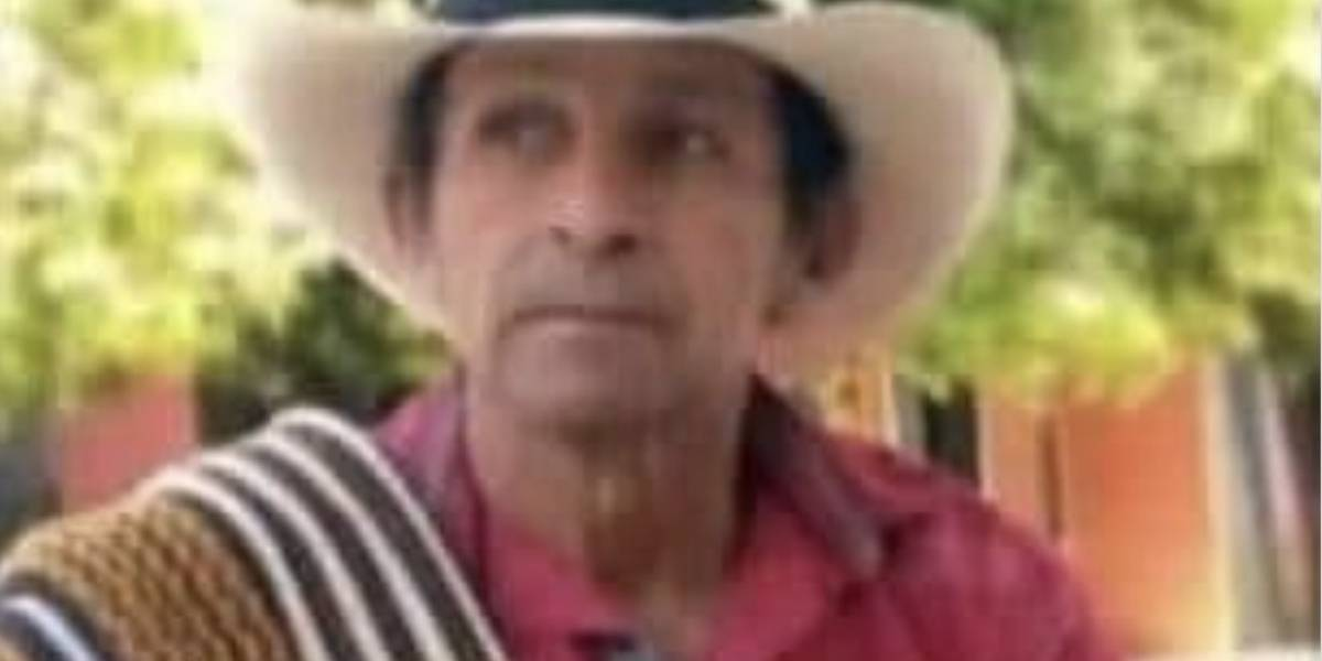 Líder social de Tarazá fue hallado muerto, con signos de tortura