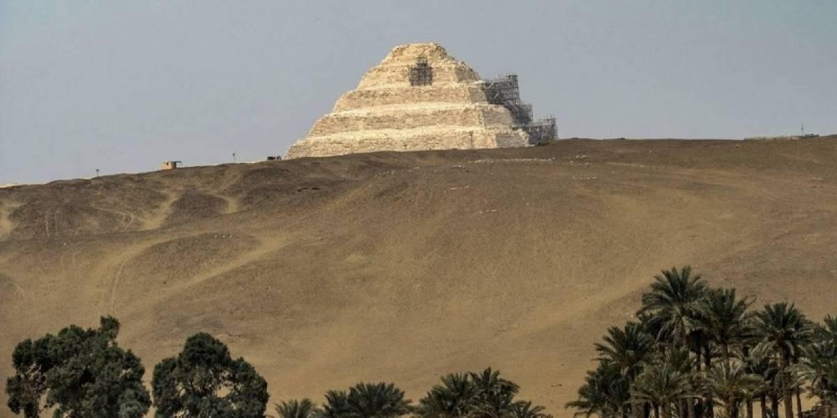 """No vaya a aparecer la """"Momia"""": reabren pirámide más antigua de Egipto"""
