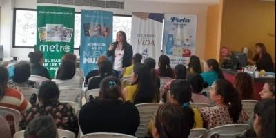Comité de Damas Voluntarias de Solca ofreció un taller de motivación dirigido a las mamitas de los pacientes de la Unidad Pediátrica