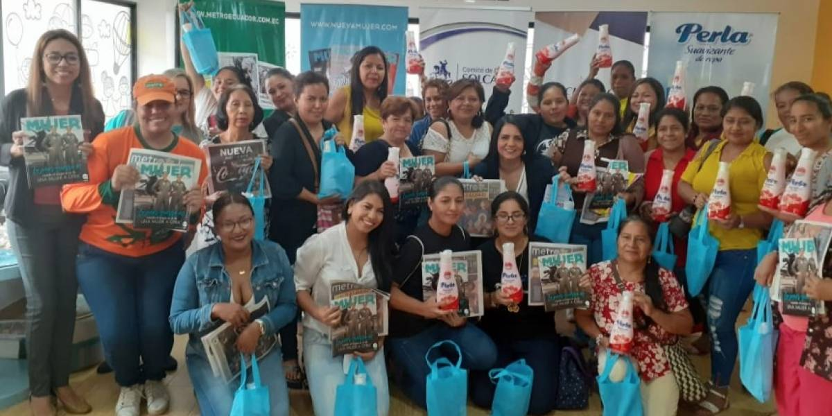 Solca festejó a las mujeres en su día junto a Metro Ecuador, Nueva Mujer y Perla