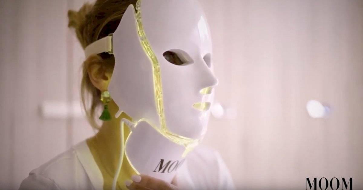 Carolina de Moras máscara Led