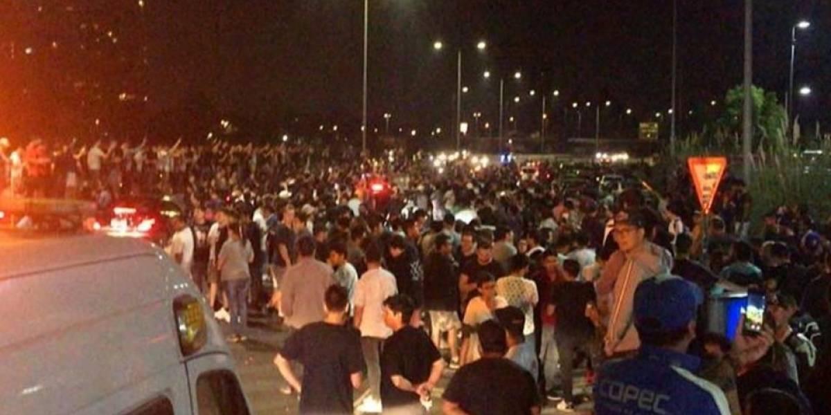 Faltaron carabineros: reconocen falta de contingente para controlar carreras clandestinas en la Costanera